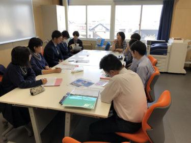 デジタルサイネージの研究(青森商業高校との共同研究)