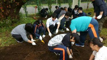 社会福祉学コースの学生が松丘保養園でボランティア活動