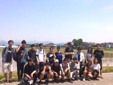 田舎館村田植え体験ツアー2019