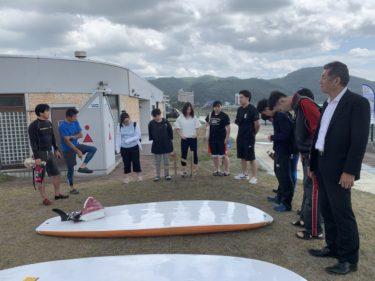 7/2(火)社会学部佐々木淳一ゼミが海のアクティビティ体験をサンセットビーチ浅虫にて実施しました。