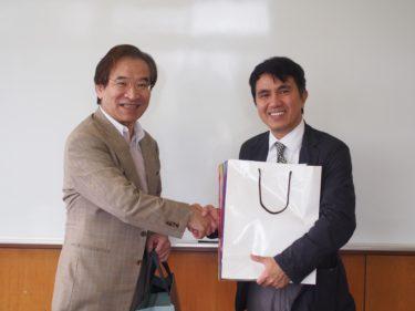 実践大学Tony KUO先生が来訪しました