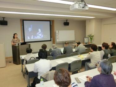 オープンカレッジ市民大学第6講~テーマは「淡谷のり子と淡谷悠蔵」