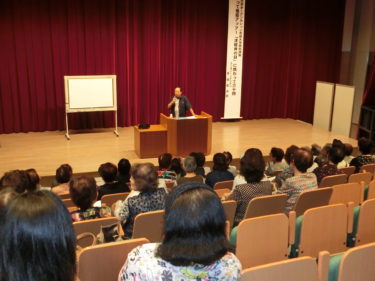 オープンカレッジ市民大学特別講座(第12講)「笑って免疫度アップ」~「津軽弁 の日」に携わって30回~