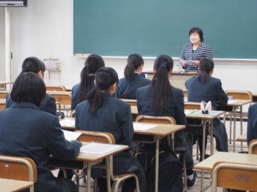 六戸高校大学見学会が行われました!