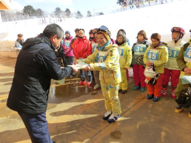 オープンカレッジ・スキー教室第3講と閉講式