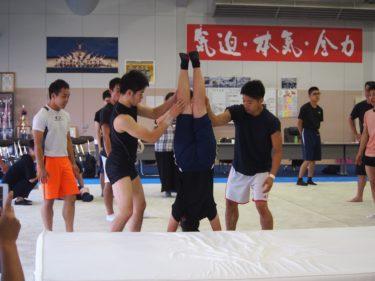 青森県立第一高等養護学校の皆さんが新体操部を訪問しました