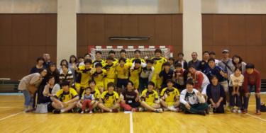 青森大学ハンドボール部が創部3年目にして東北学生1部リーグ昇格!!