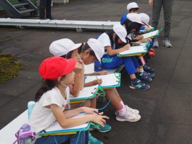 横内小学校2年生の皆さんが、学区探検で青森大学を見学しました