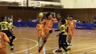 11月24日(日)正徳館(第二体育館)で「第5回青森みらいライオンズクラブ小学生ハンドボール大会」が行われました