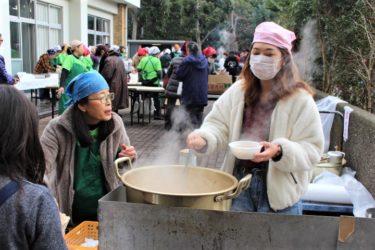 地域自治会の新春餅つき大会に参加しました