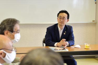 小野寺青森市長が来学されました