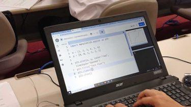 高校教員向けのPythonプログラミング研修会を開催