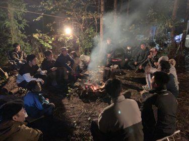 「塚原俊也の森で遊ぶ講座〜キャンプ入門編〜」を開催しました。