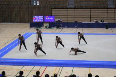 青森大学男子新体操部が全日本学生新体操選手権大会19連覇しました!