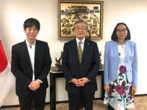 ベトナム大使館を訪問しました